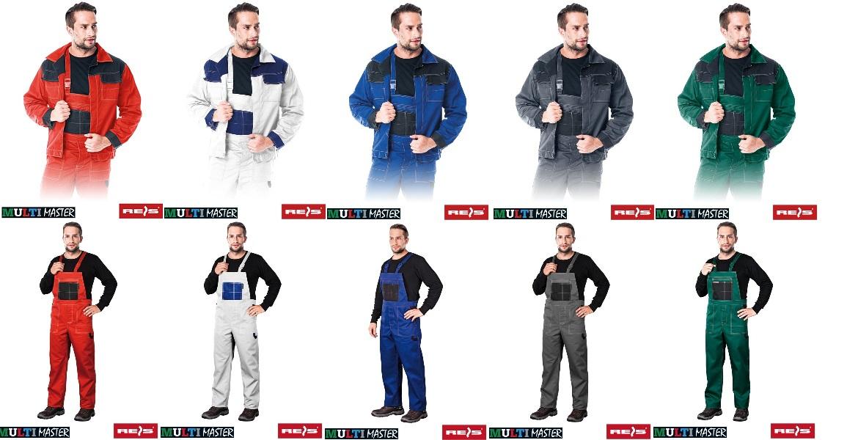 bbe97b0baa Ubranie Robocze letnie komplet bluza robocza letnia oraz spodnie robocze  ogrodniczki marki REIS MMB