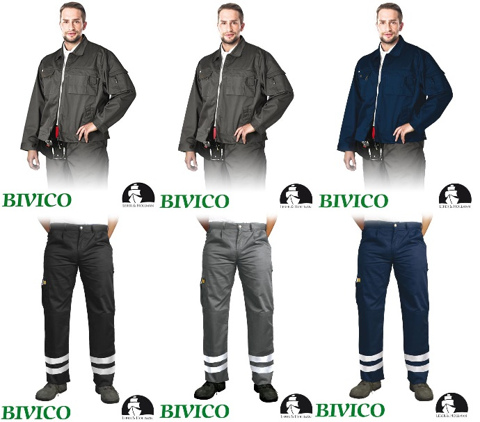 1024bd54fe Ubrania Robocze komplet letni Bluza oraz Spodnie do Pasa LH-WILSTER marki  LEBER HOLLMAN