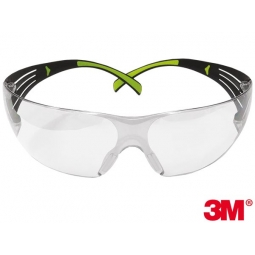 10340fa16ad103 Okulary ochronne SecureFit™ 400 marki 3M Poliwęglanowe Soczewki 3M -OO-SECFIT-AS