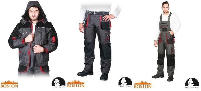 00c44603ce Ubranie Robocze komplet zimowy Kurtka oraz Spodnie Ogrodniczki Spodnie do  Pasa LH-BSW-J marki LEBER HOLLMAN