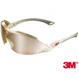6e69e8b372dcc7 Okulary ochronne BX przeciwodpryskowe , antyparujące marki 3M Kolor  STALOWY/SZARY 3M-OO-